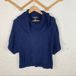 WHBM Cowl Neck Knit Sweater